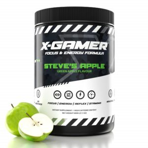 x-gamer steves apple flavoured energy drink