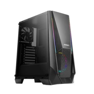 Antec NX310 ARGB LED Tempered Glass Side (GPU 320mm) ATX|Micro ATX|ITX Gaming Chassis - Black